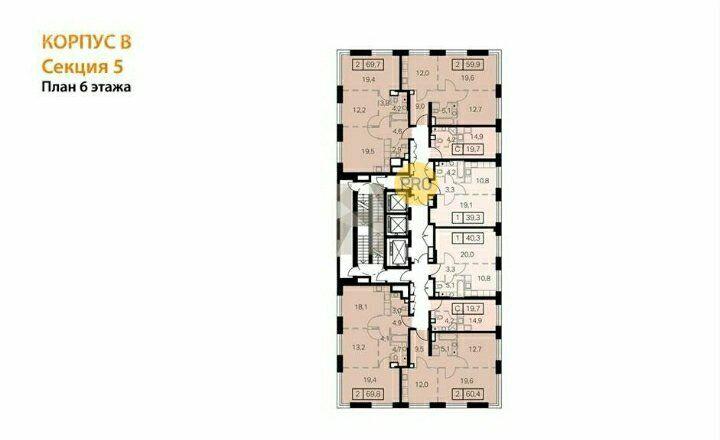Продажа двухкомнатной квартиры Москва, метро Черкизовская, Амурская улица 3с5, цена 15170000 рублей, 2021 год объявление №592268 на megabaz.ru