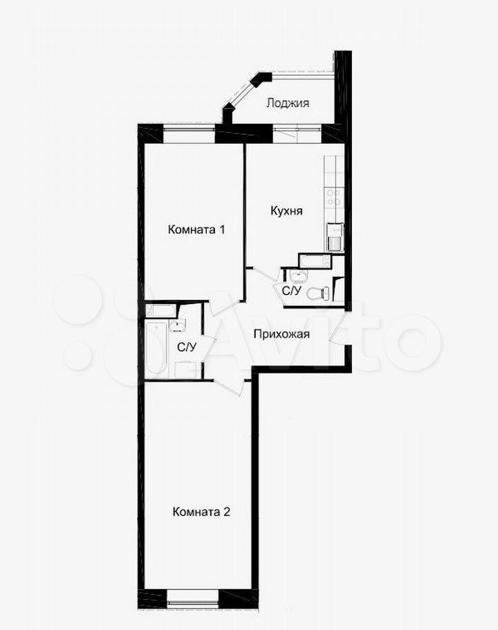 Продажа двухкомнатной квартиры Химки, улица Германа Титова 5к2, цена 9200000 рублей, 2021 год объявление №604081 на megabaz.ru