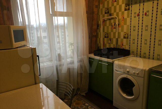 Аренда однокомнатной квартиры Клин, Литейная улица 59/10, цена 16000 рублей, 2021 год объявление №1345908 на megabaz.ru