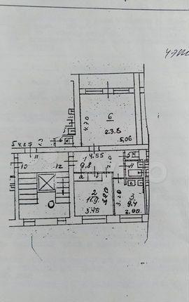 Продажа двухкомнатной квартиры рабочий поселок Новоивановское, улица Агрохимиков 4, цена 4600000 рублей, 2021 год объявление №588608 на megabaz.ru