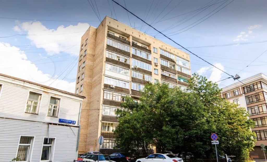Продажа однокомнатной квартиры Москва, метро Трубная, 1-й Колобовский переулок 15/6, цена 20000000 рублей, 2021 год объявление №632396 на megabaz.ru