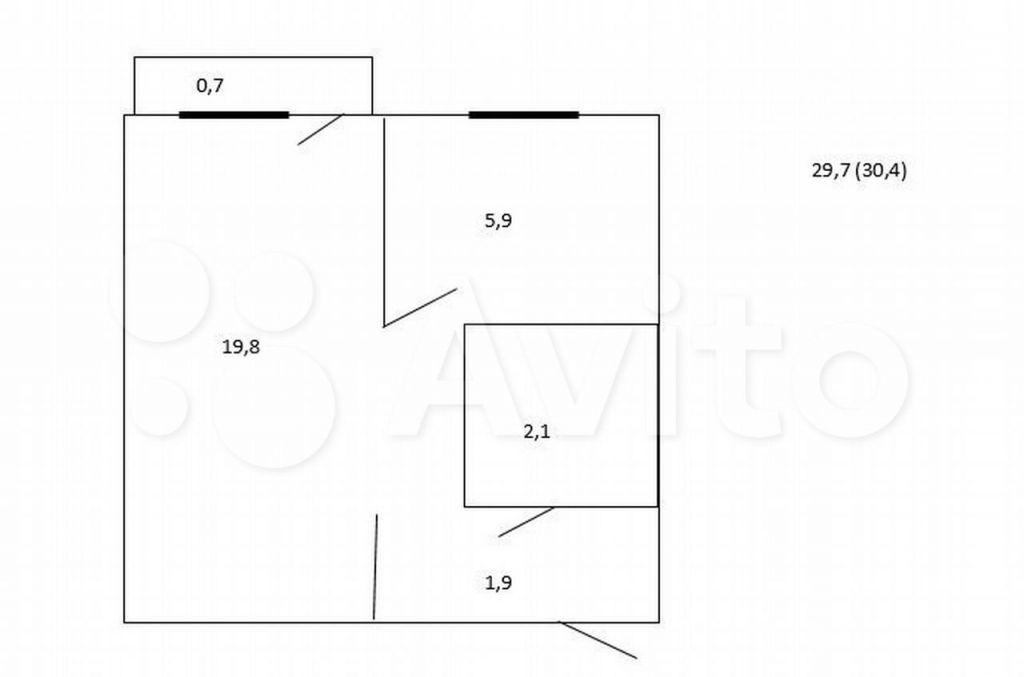 Продажа однокомнатной квартиры Москва, метро Бабушкинская, Минусинская улица 8, цена 7800000 рублей, 2021 год объявление №601199 на megabaz.ru