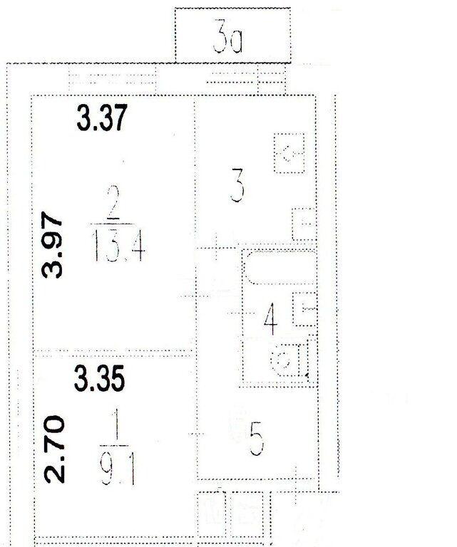 Продажа двухкомнатной квартиры Москва, метро Марьина роща, 4-й Стрелецкий проезд 4, цена 12300000 рублей, 2021 год объявление №653191 на megabaz.ru