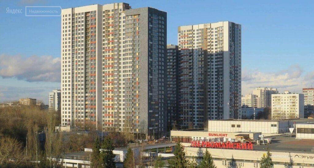 Продажа однокомнатной квартиры Москва, метро Щелковская, улица Константина Федина 13, цена 10500000 рублей, 2021 год объявление №639608 на megabaz.ru