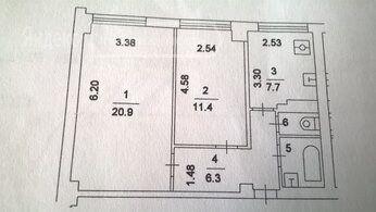 Аренда двухкомнатной квартиры Москва, метро Смоленская, Новинский бульвар 15, цена 57000 рублей, 2021 год объявление №1352745 на megabaz.ru