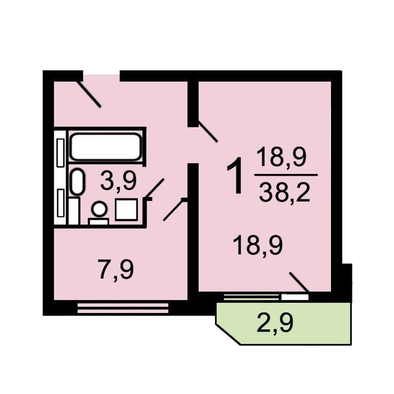 Продажа однокомнатной квартиры Москва, метро Марьино, улица Маршала Голованова 7, цена 7500000 рублей, 2021 год объявление №634958 на megabaz.ru
