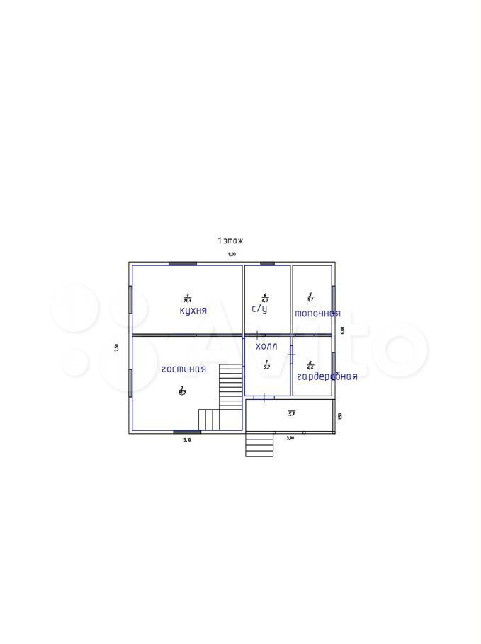 Продажа дома деревня Сенино, цена 5800000 рублей, 2021 год объявление №584758 на megabaz.ru