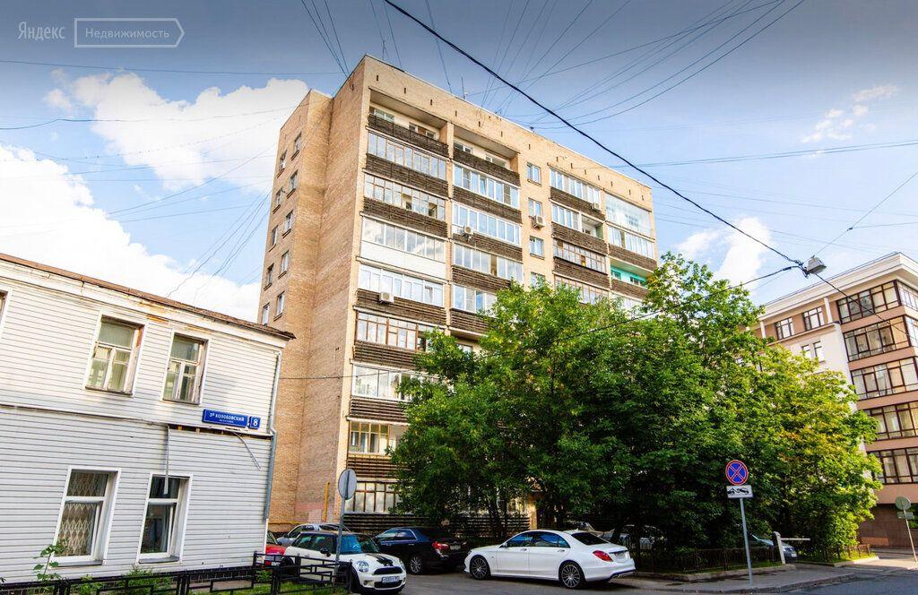 Продажа однокомнатной квартиры Москва, метро Трубная, 1-й Колобовский переулок 15/6, цена 18000000 рублей, 2021 год объявление №591055 на megabaz.ru