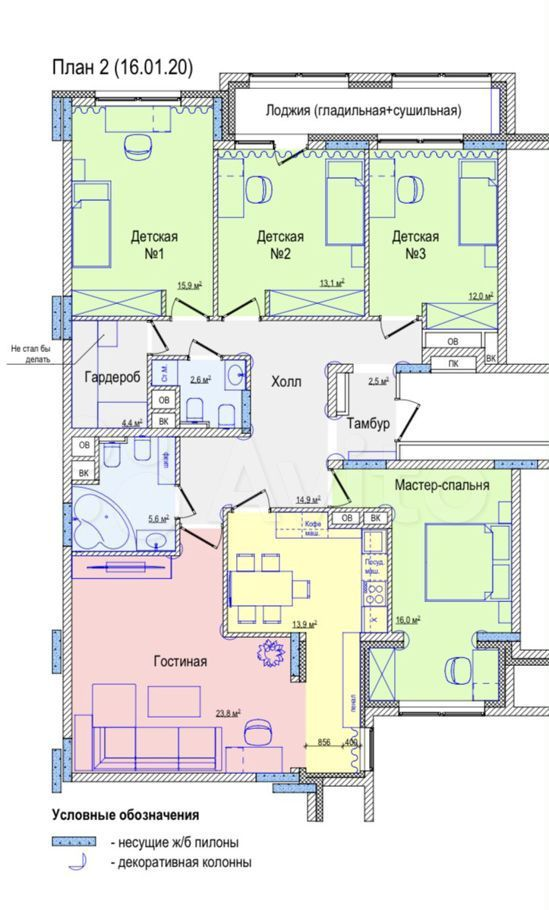 Продажа пятикомнатной квартиры поселок Развилка, метро Зябликово, цена 18100000 рублей, 2021 год объявление №547091 на megabaz.ru