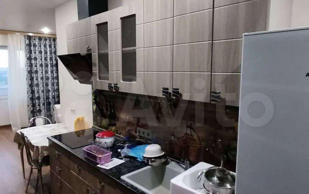 Продажа студии деревня Целеево, улица Пятиречье 4Б, цена 3300000 рублей, 2021 год объявление №680113 на megabaz.ru