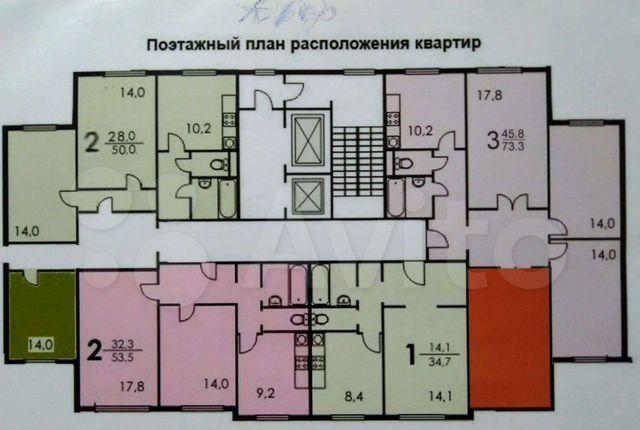 Продажа однокомнатной квартиры Москва, метро Новоясеневская, проезд Карамзина 5, цена 6200000 рублей, 2021 год объявление №593267 на megabaz.ru
