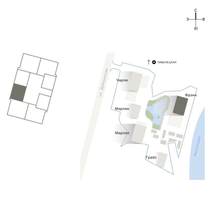 Продажа однокомнатной квартиры Москва, метро Серпуховская, Дубининская улица 65с6, цена 12800000 рублей, 2020 год объявление №446660 на megabaz.ru