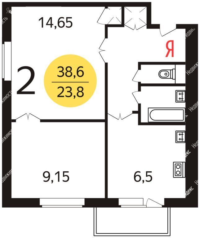 Продажа двухкомнатной квартиры Москва, метро Каховская, Болотниковская улица 38к4, цена 7299000 рублей, 2020 год объявление №398567 на megabaz.ru