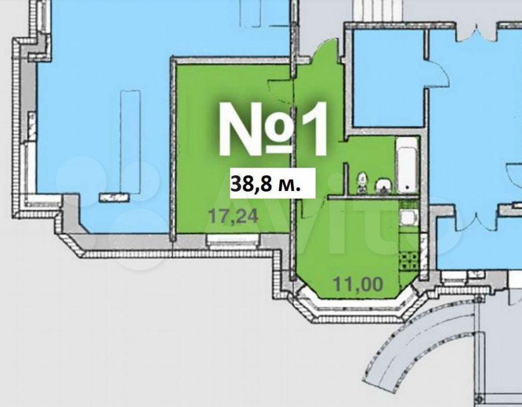 Продажа однокомнатной квартиры поселок Горки-10, цена 4149000 рублей, 2021 год объявление №597199 на megabaz.ru