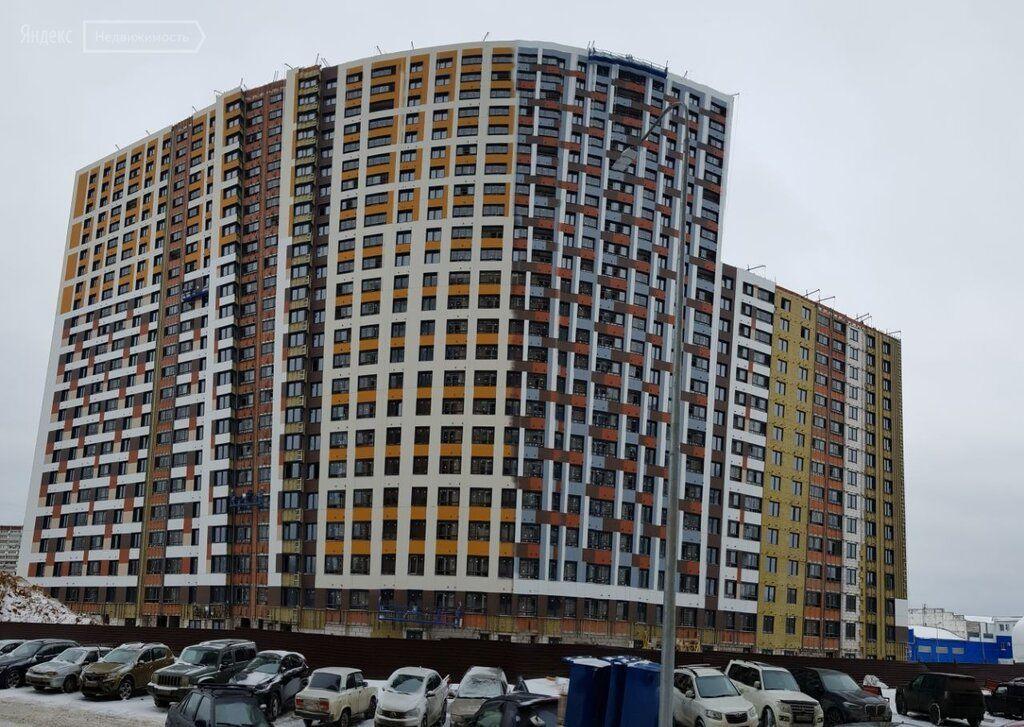 Продажа однокомнатной квартиры рабочий поселок Новоивановское, бульвар Эйнштейна 3, цена 6100000 рублей, 2021 год объявление №597151 на megabaz.ru