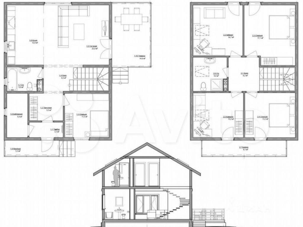 Продажа дома деревня Софьино, Огородная улица 28, цена 2500000 рублей, 2021 год объявление №604953 на megabaz.ru