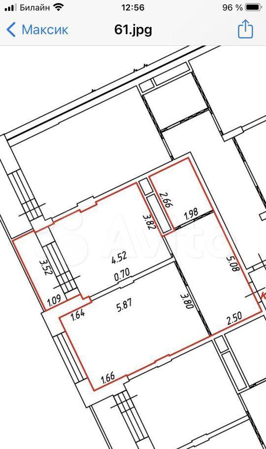 Продажа однокомнатной квартиры Котельники, улица Строителей 5, цена 7450000 рублей, 2021 год объявление №578924 на megabaz.ru