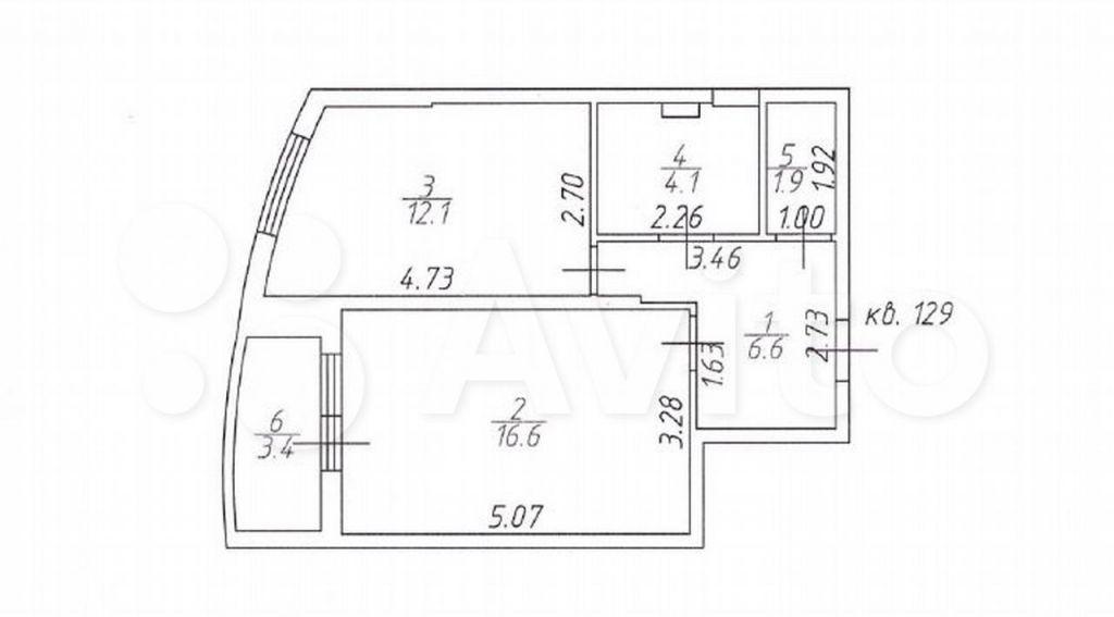 Продажа однокомнатной квартиры Кубинка, Наро-Фоминское шоссе 8, цена 5500000 рублей, 2021 год объявление №651160 на megabaz.ru