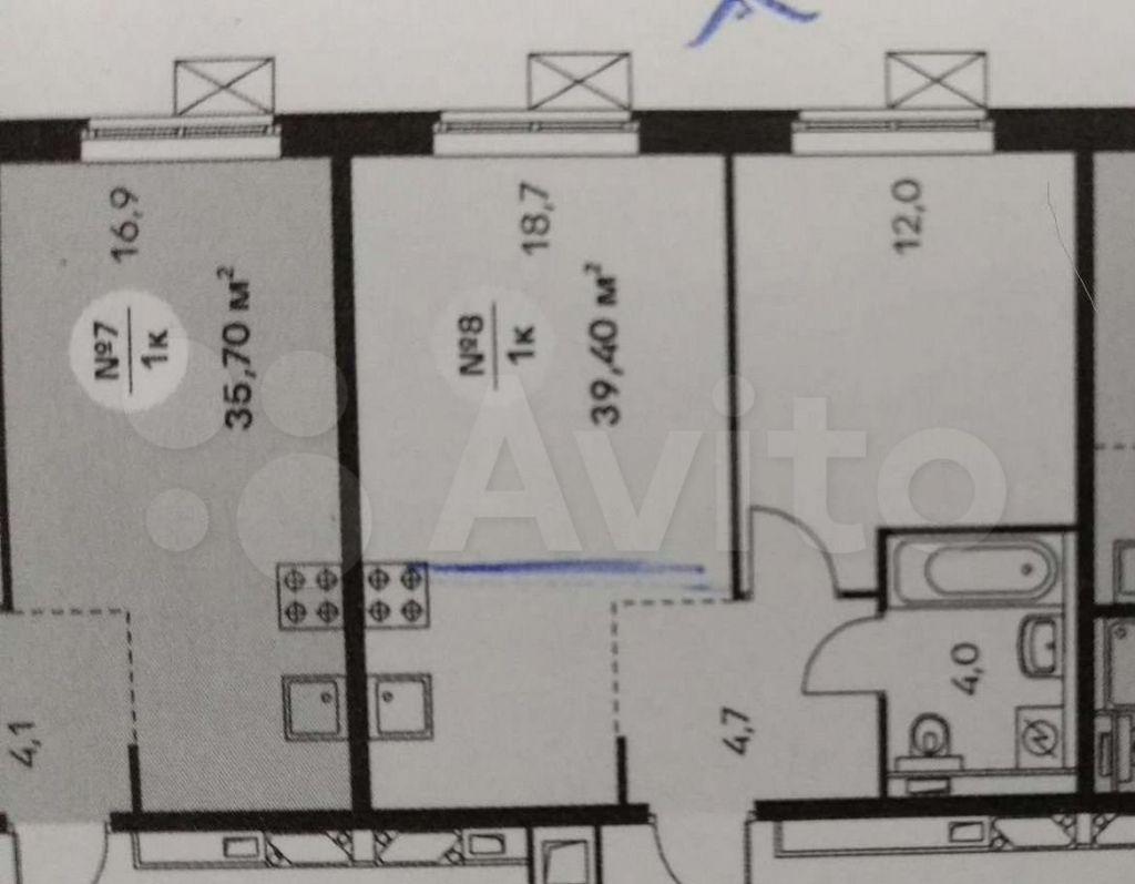 Продажа однокомнатной квартиры Москва, метро Братиславская, цена 9200000 рублей, 2021 год объявление №545517 на megabaz.ru