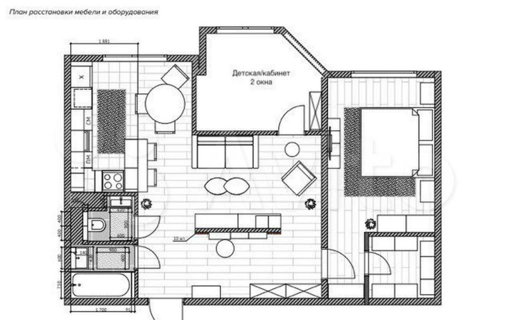 Продажа трёхкомнатной квартиры Видное, Завидная улица 10, цена 11500000 рублей, 2021 год объявление №595797 на megabaz.ru