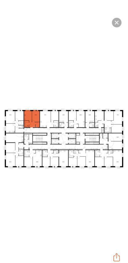 Продажа однокомнатной квартиры Люберцы, улица 8 Марта 16, цена 6200000 рублей, 2021 год объявление №606861 на megabaz.ru