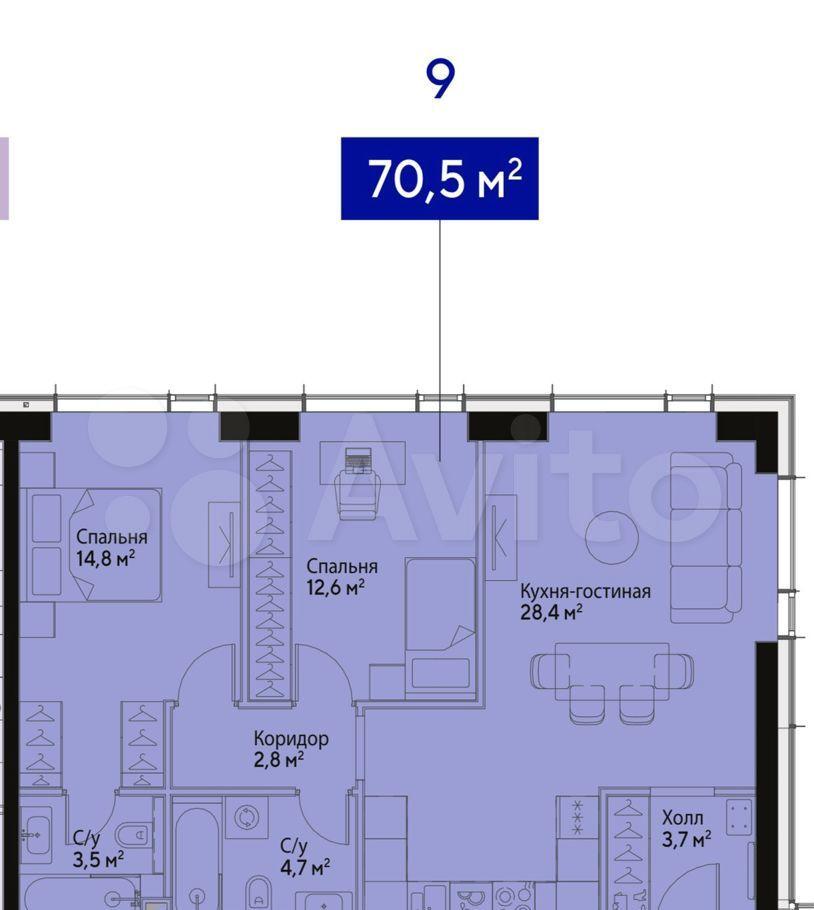 Продажа трёхкомнатной квартиры Москва, метро Борисово, улица Борисовские Пруды 1с10, цена 18350000 рублей, 2021 год объявление №623476 на megabaz.ru