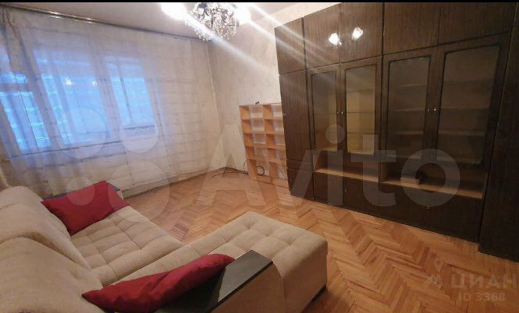 Аренда трёхкомнатной квартиры Москва, метро Марьино, Поречная улица 3к1, цена 40000 рублей, 2021 год объявление №1368050 на megabaz.ru