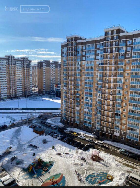 Продажа однокомнатной квартиры Люберцы, метро Выхино, Вертолётная улица 18, цена 5850000 рублей, 2021 год объявление №637697 на megabaz.ru