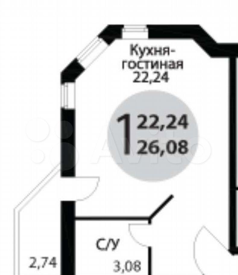 Аренда студии Старая Купавна, Новая улица 3, цена 16000 рублей, 2021 год объявление №1396857 на megabaz.ru