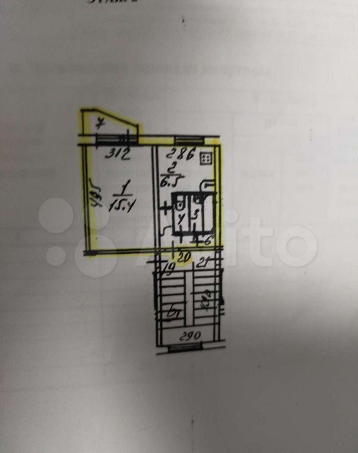 Продажа однокомнатной квартиры посёлок Жуково, цена 2500000 рублей, 2021 год объявление №608784 на megabaz.ru