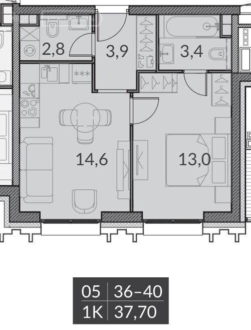 Продажа однокомнатной квартиры Москва, метро Серпуховская, цена 15960000 рублей, 2021 год объявление №634074 на megabaz.ru
