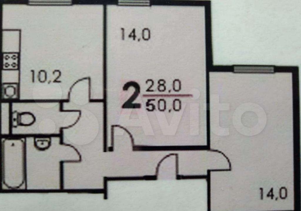 Продажа двухкомнатной квартиры Москва, метро Новоясеневская, проезд Карамзина 5, цена 6700000 рублей, 2021 год объявление №609976 на megabaz.ru