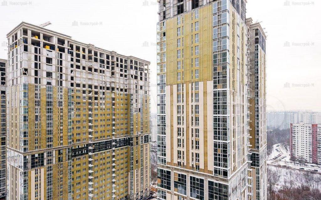 Продажа двухкомнатной квартиры Москва, метро Красногвардейская, цена 16450000 рублей, 2021 год объявление №609893 на megabaz.ru