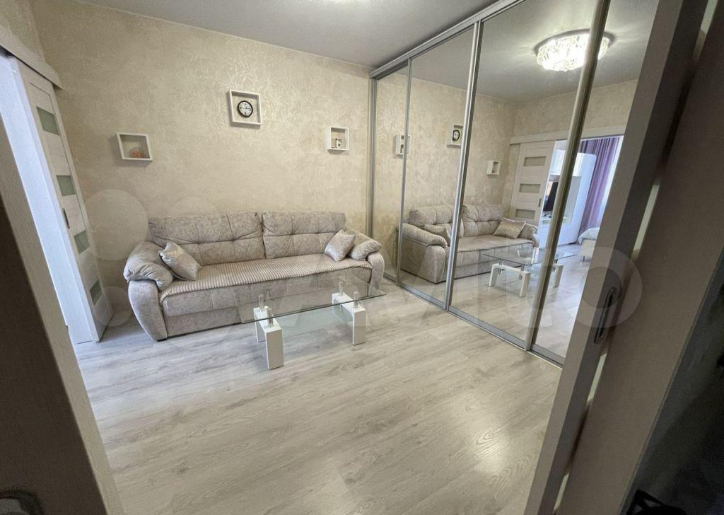 Продажа однокомнатной квартиры поселок Мебельной фабрики, Заречная улица 5, цена 6500000 рублей, 2021 год объявление №639342 на megabaz.ru
