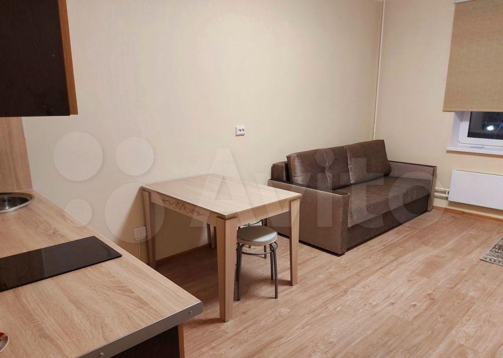 Аренда студии поселок Мебельной фабрики, Рассветная улица 5, цена 26000 рублей, 2021 год объявление №1449359 на megabaz.ru