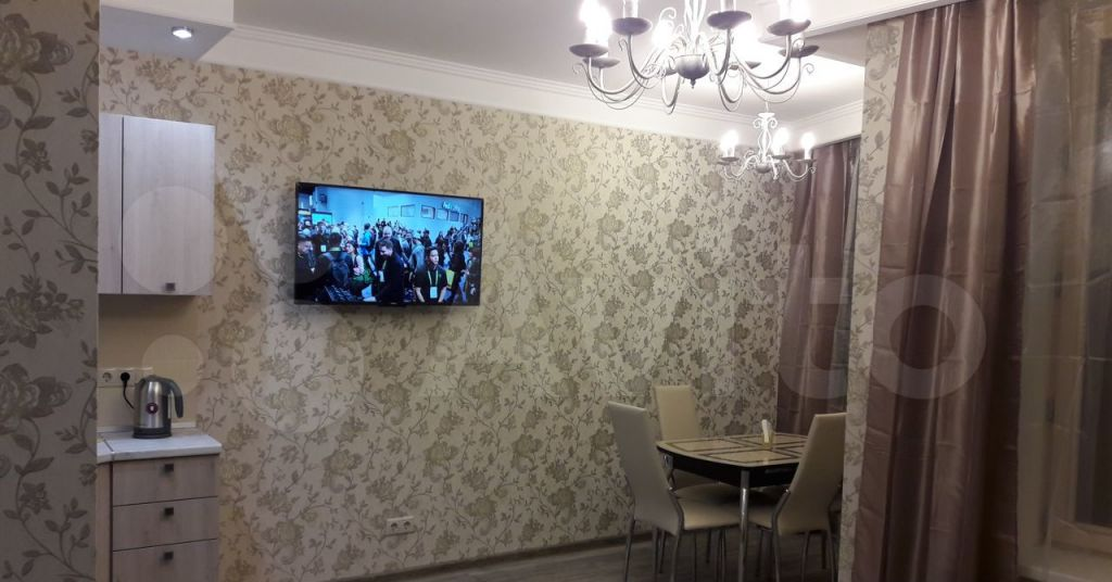 Аренда однокомнатной квартиры деревня Подолино, Беговая улица 10, цена 23000 рублей, 2021 год объявление №1375370 на megabaz.ru
