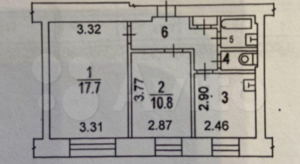Продажа двухкомнатной квартиры Москва, метро Спортивная, Комсомольский проспект 44, цена 22000000 рублей, 2021 год объявление №611114 на megabaz.ru