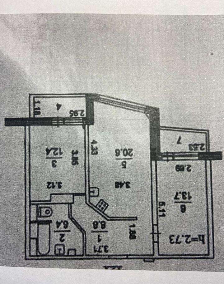 Продажа трёхкомнатной квартиры Люберцы, метро Жулебино, улица 3-е Почтовое Отделение 98, цена 12000000 рублей, 2021 год объявление №612104 на megabaz.ru