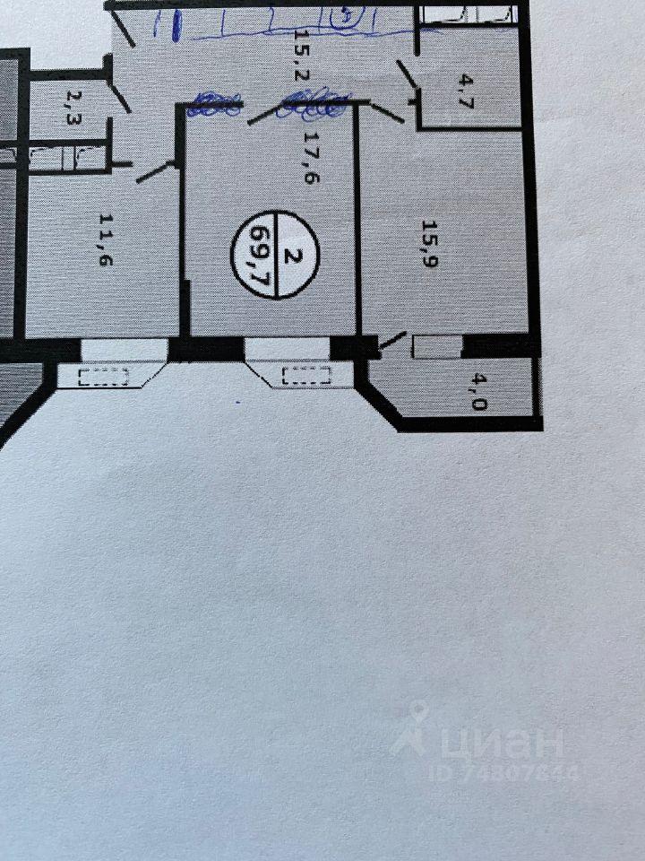 Продажа двухкомнатной квартиры Видное, метро Кантемировская, Берёзовая улица 9, цена 10500000 рублей, 2021 год объявление №637289 на megabaz.ru