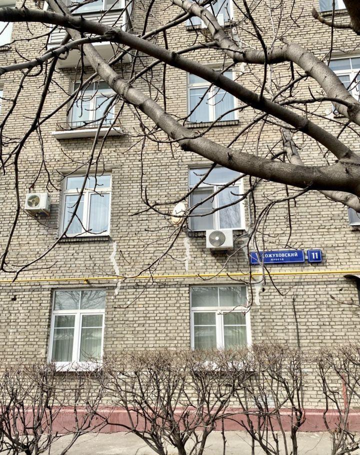 Продажа однокомнатной квартиры Москва, метро Автозаводская, 1-й Кожуховский проезд 11, цена 10750000 рублей, 2021 год объявление №613309 на megabaz.ru