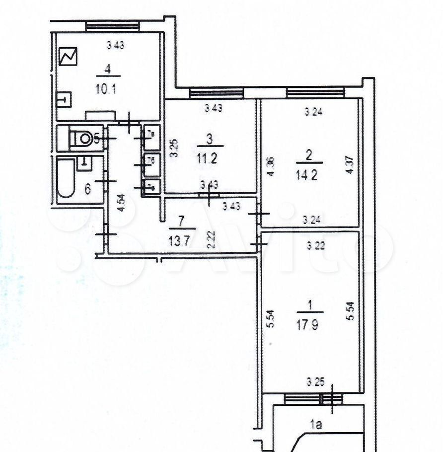 Продажа трёхкомнатной квартиры Москва, метро Красносельская, Верхняя Красносельская улица 10к7А, цена 19500000 рублей, 2021 год объявление №615354 на megabaz.ru