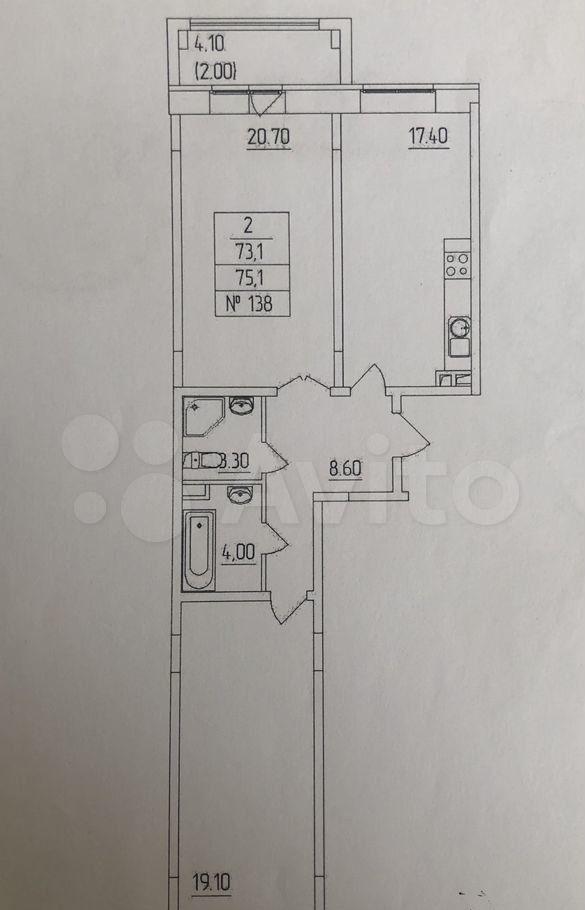 Продажа трёхкомнатной квартиры деревня Высоково, цена 7500000 рублей, 2021 год объявление №615685 на megabaz.ru