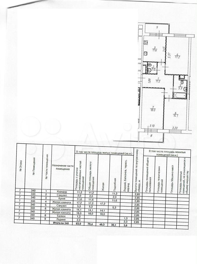 Продажа трёхкомнатной квартиры Москва, метро Ботанический сад, цена 25232000 рублей, 2021 год объявление №613851 на megabaz.ru