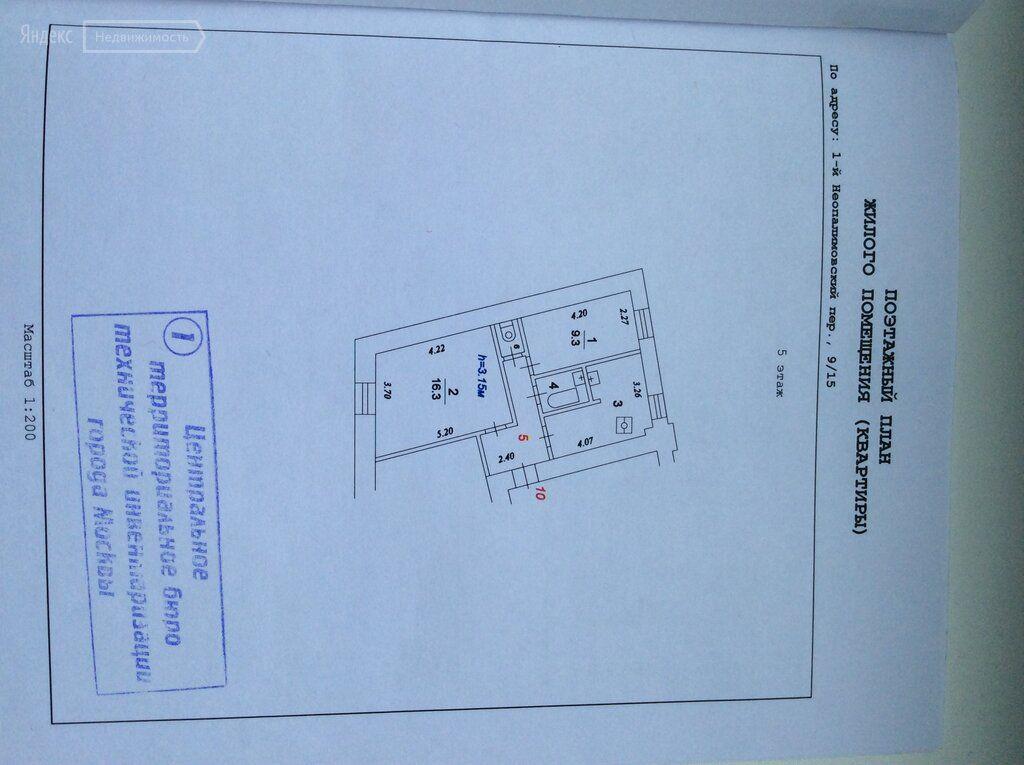 Продажа двухкомнатной квартиры Москва, метро Смоленская, 1-й Неопалимовский переулок 9/15, цена 16000000 рублей, 2020 год объявление №376557 на megabaz.ru
