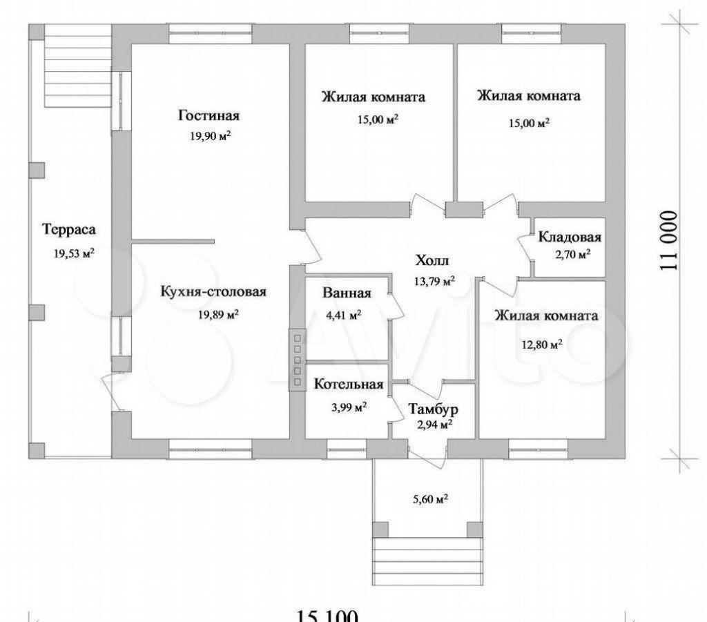 Продажа дома деревня Кузнецы, цена 4000000 рублей, 2021 год объявление №564542 на megabaz.ru