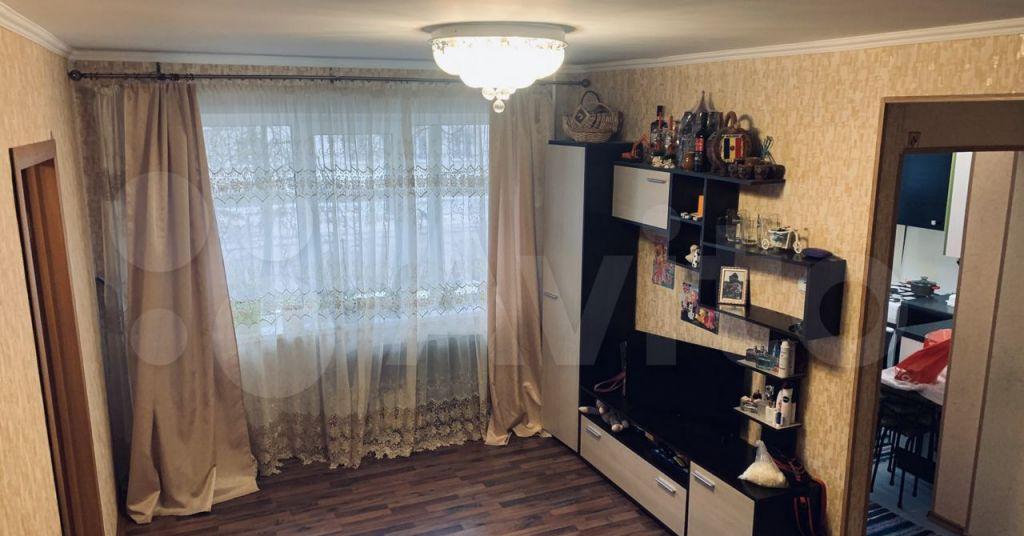 Продажа двухкомнатной квартиры рабочий посёлок Сычёво, Нерудная улица 2, цена 2000000 рублей, 2021 год объявление №599335 на megabaz.ru