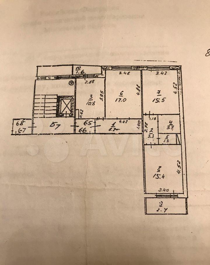 Продажа трёхкомнатной квартиры деревня Малые Вязёмы, Петровское шоссе 3, цена 8200000 рублей, 2021 год объявление №622561 на megabaz.ru