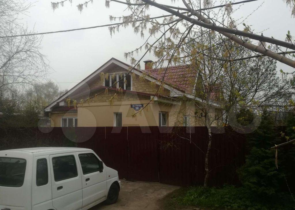 Продажа дома Ступино, улица Гоголя 38, цена 12000000 рублей, 2021 год объявление №616615 на megabaz.ru