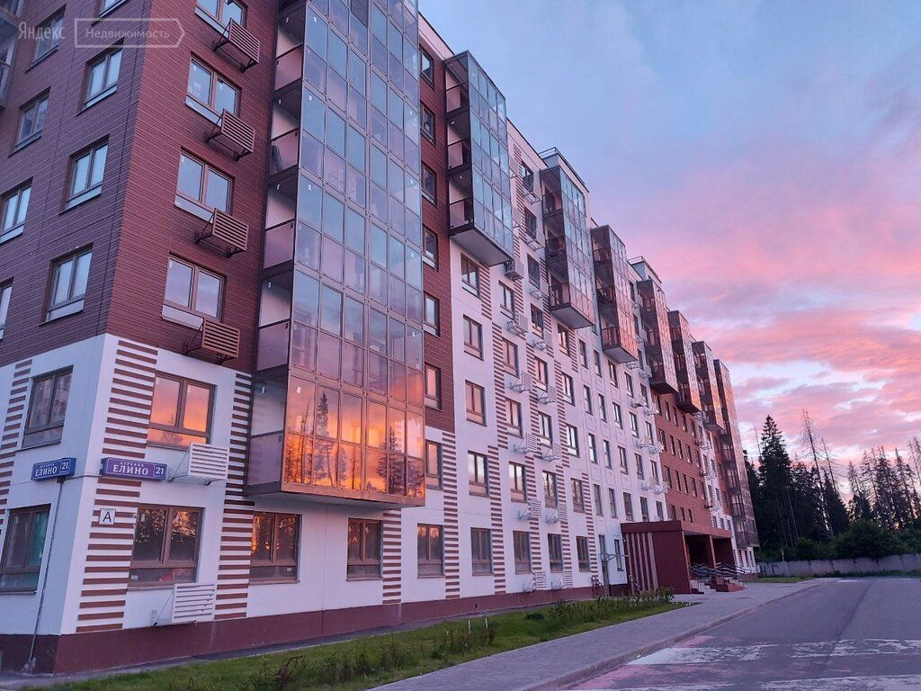 Продажа однокомнатной квартиры деревня Елино, цена 4500000 рублей, 2021 год объявление №634315 на megabaz.ru