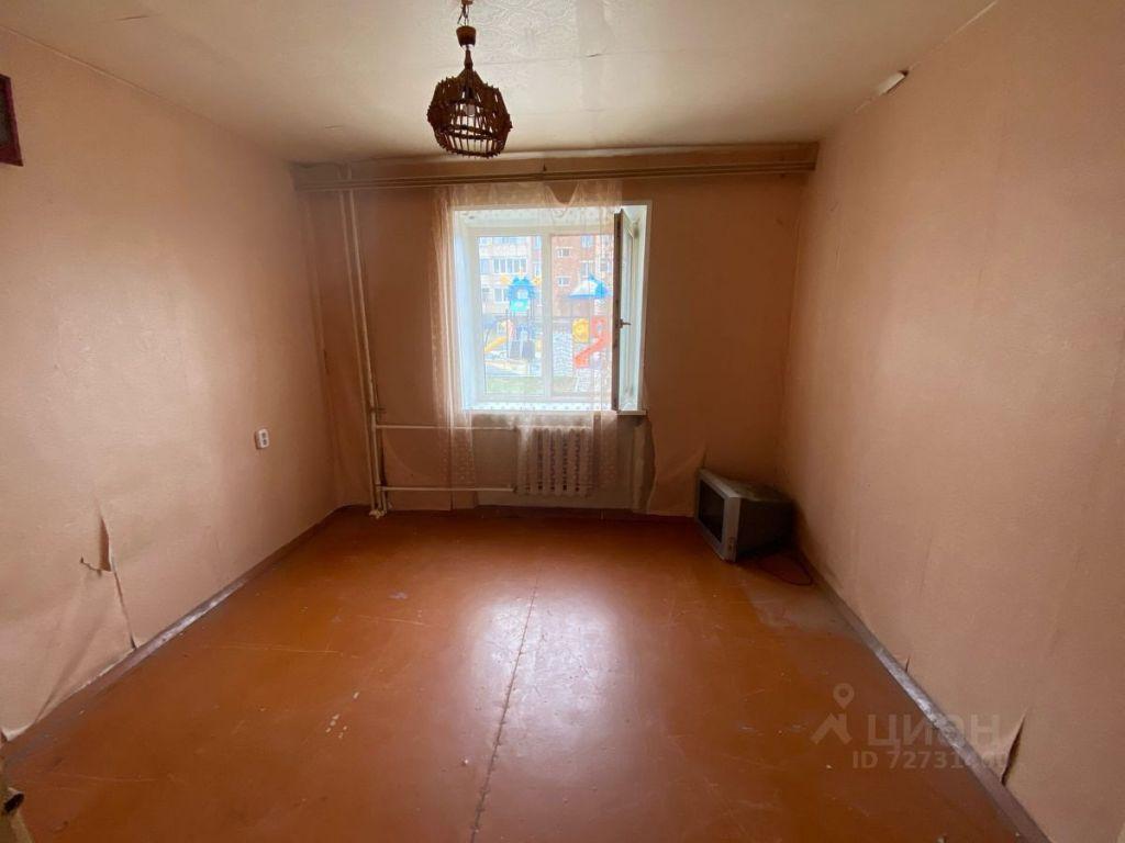 Продажа двухкомнатной квартиры Кашира, Клубная улица 13, цена 3100000 рублей, 2021 год объявление №616969 на megabaz.ru